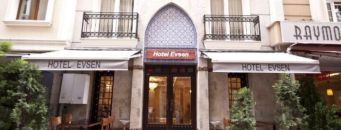 Hotel Evsen is one of Amazing Istanbul.
