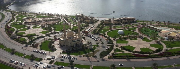 Al Majaz Waterfront واجهة المجاز المائية is one of Sharjah's Hidden Smiles :-).