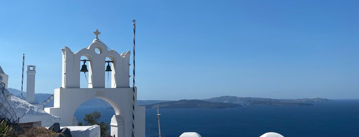 Ikies Hotel is one of Santorini.