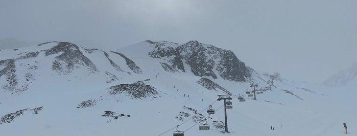 Fernau Talstation is one of Stubaier Gletscher / Stubai Glacier.