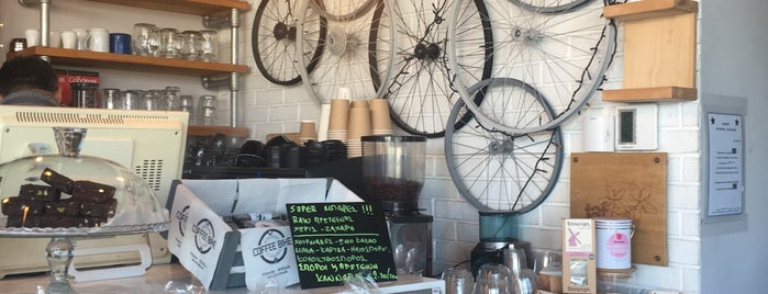 Coffee Bike is one of Tempat yang Disukai Vangelis.