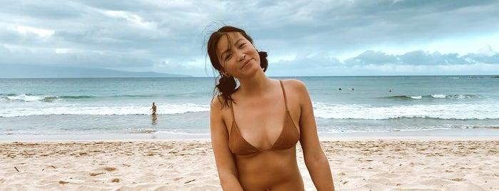 Oneloa Beach is one of Maui, HI.