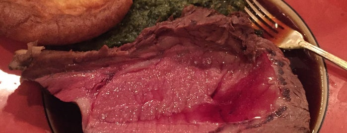 House of Prime Rib is one of SF food.