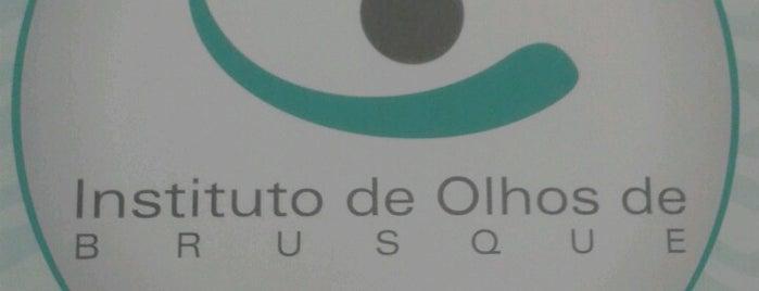 Instituto de Olhos Brusque is one of Orte, die Luis Gustavo gefallen.