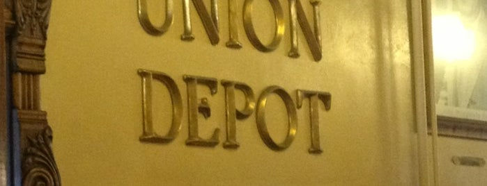 Union Depot is one of Historical Sites, Museums.