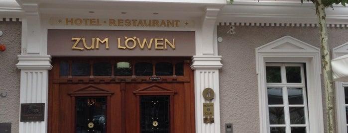 Hotel Zum Löwen is one of Design Hotels.