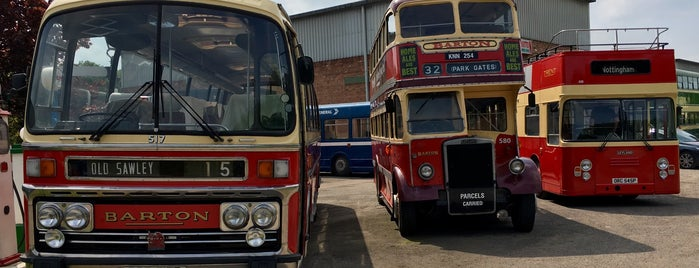 Nottingham Transport Heritage Centre is one of Lugares favoritos de Kevin.