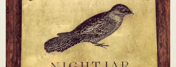 The Nightjar is one of Diplomático at the World's 50 best bars.