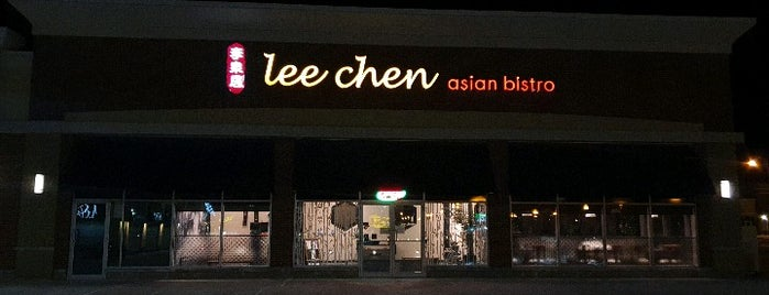 Lee Chen Asian Bistro 李泉居 is one of WH.