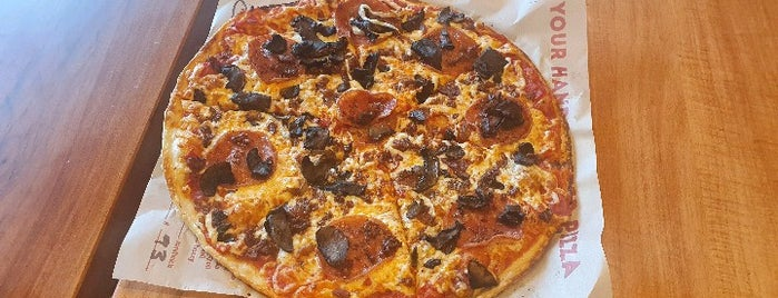 Score Pizza is one of Places with Patio dining.
