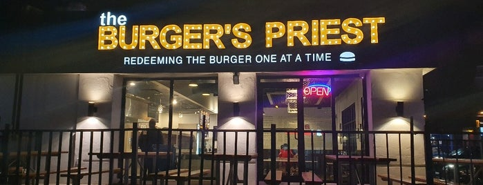The Burger's Priest is one of Toronto, Canada.