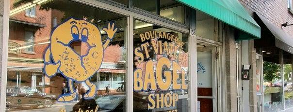 St-Viateur Bagel is one of Montreal.