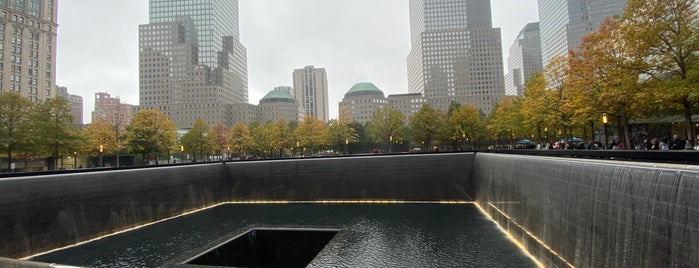 9/11 Memorial South Pool is one of Tourist attractions NYC.