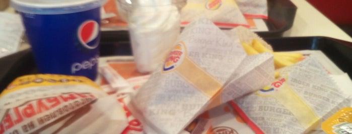 Burger King is one of Tempat yang Disukai Nata4ka.