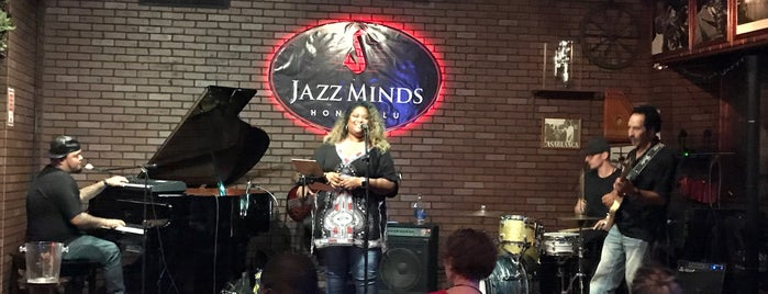 Jazz Minds Honolulu is one of Tempat yang Disimpan Micah.