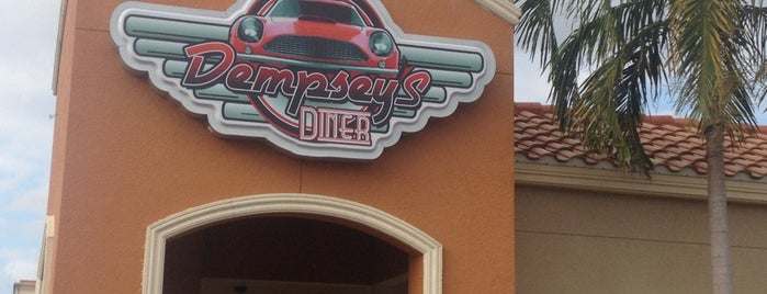 Dempsey's Diner is one of CORYさんの保存済みスポット.