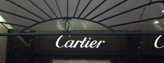 Cartier is one of Tempat yang Disukai Jean Philippe.