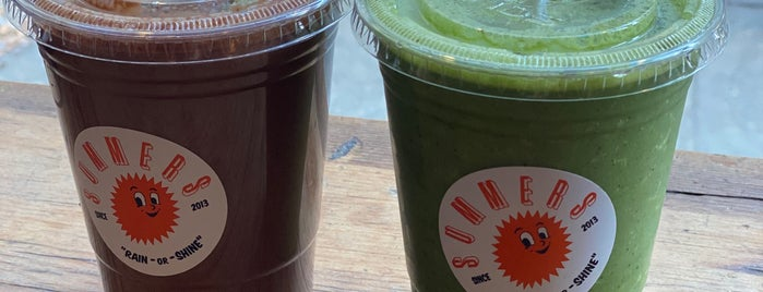 Summers Juice & Coffee is one of Juice Bars NY.