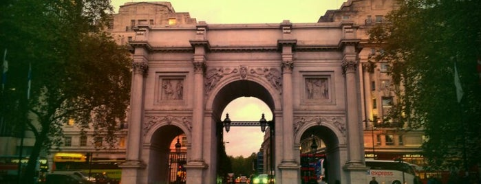 Marble Arch is one of Londres / London.