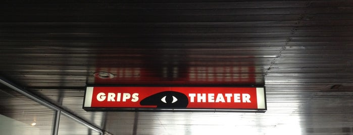 GRIPS Theater is one of Anja 님이 좋아한 장소.