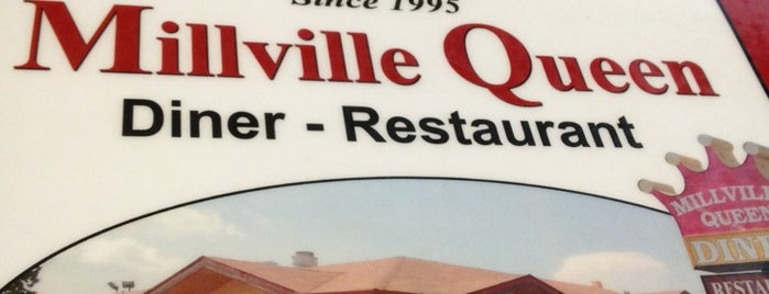 Millville Queen Diner is one of New Jersey Diners.