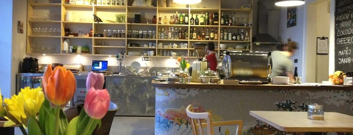 Periferie cafe is one of Places where I've eaten in CZ (Part 3 of 6).