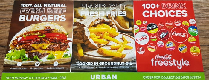 Urban Fresh Burgers & Fries is one of Sheff Lunch List.