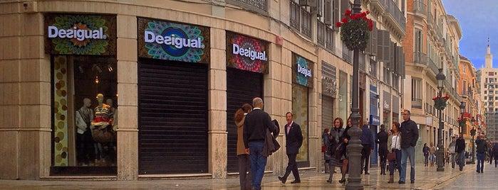 Calle Marqués de Larios is one of Qué visitar en Málaga.