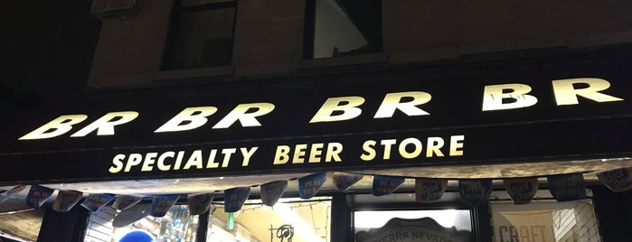 BR Specialty Beer Store is one of NYC Craftbeer.