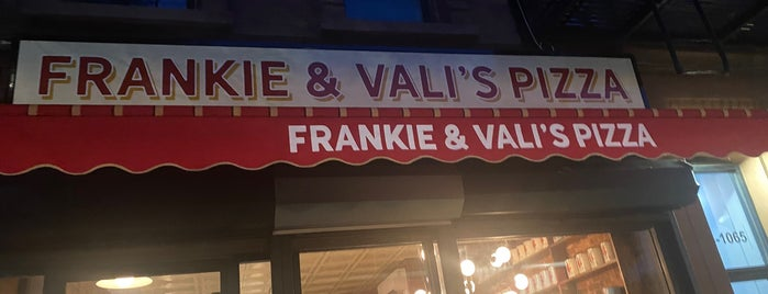 Frankie & Vali's Pizza is one of Plans.