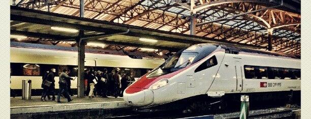 Gare de Lausanne is one of Follow the Orient Express — Şark Ekspresi.
