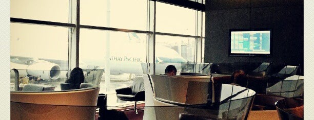 The Cabin - Cathay Pacific Lounge is one of 空港 ラウンジ.