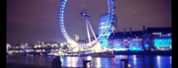Лондонский глаз is one of London's great locations - Peter's Fav's.