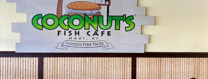 Coconut's Fish Cafe is one of Kauai, Hawaii.