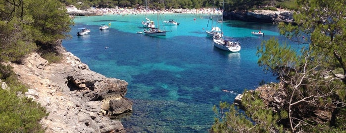 Cala Turqueta is one of Menorca.