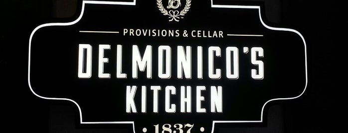 Delmonico's Kitchen is one of New Restaurants to Try.