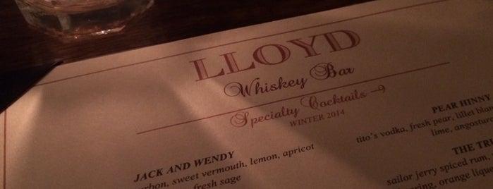 Lloyd Whiskey Bar is one of Stephadelphia.