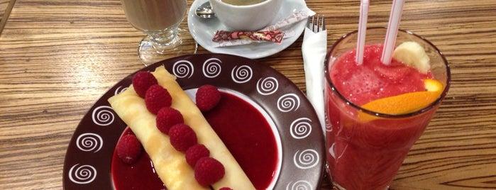 "Шоколадница is one of Кафе и рестораны ""Жемчужной Плазы""."