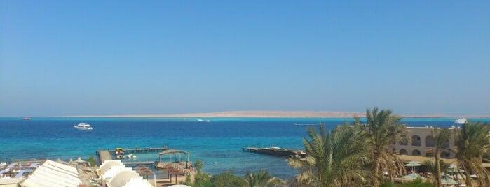 Hurghada Marriott Beach Resort is one of Sofia'nın Beğendiği Mekanlar.