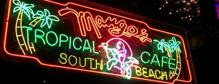 Mango's Tropical Cafe is one of Miami.