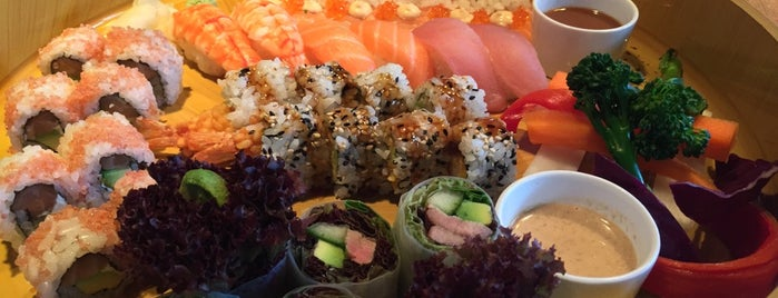 Sticks'n'Sushi is one of New London Openings 2015.