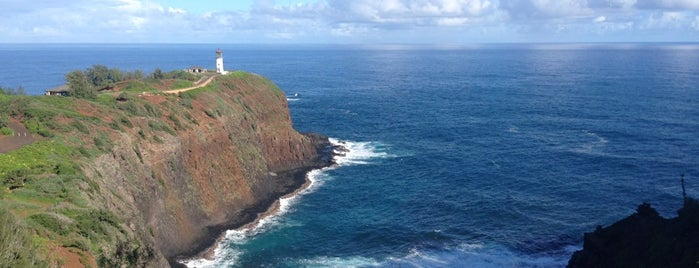Kilauea Point Lighthouse is one of Kauai.