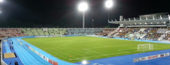 Stadium Darul Makmur is one of Attraction Places to Visit.