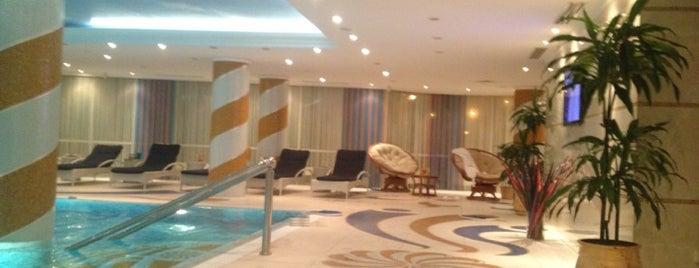 Rimar Hotel Krasnodar 5* is one of สถานที่ที่ Георгий ถูกใจ.