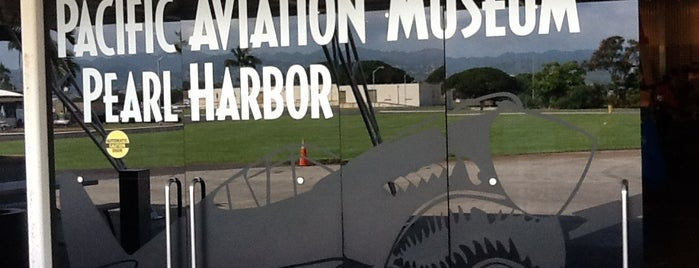 Pacific Aviation Museum Pearl Harbor is one of Tempat yang Disukai Jason.
