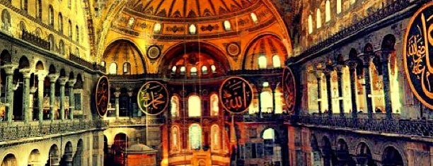 Hagia Sophia is one of favori mekanlar.