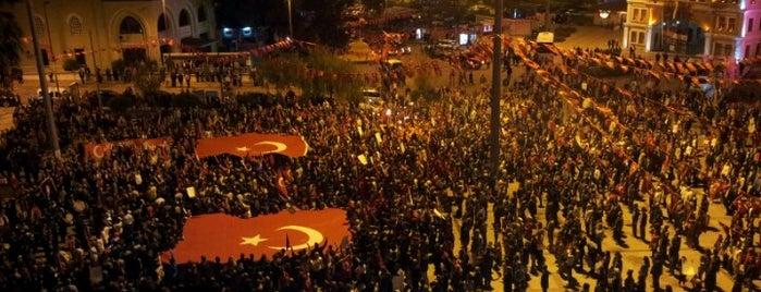 Cumhuriyet Meydanı is one of Check-in liste - 2.