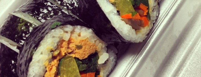 E-Mo Kimbap is one of New York Noms and Things.