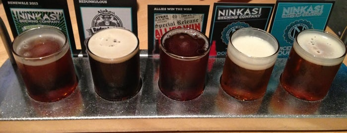 Ninkasi Brewing Tasting Room is one of Oregon Brewpubs.