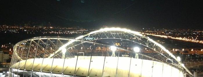 Khalifa International Stadium is one of SMS FRANKFURT Group Travel : понравившиеся места.